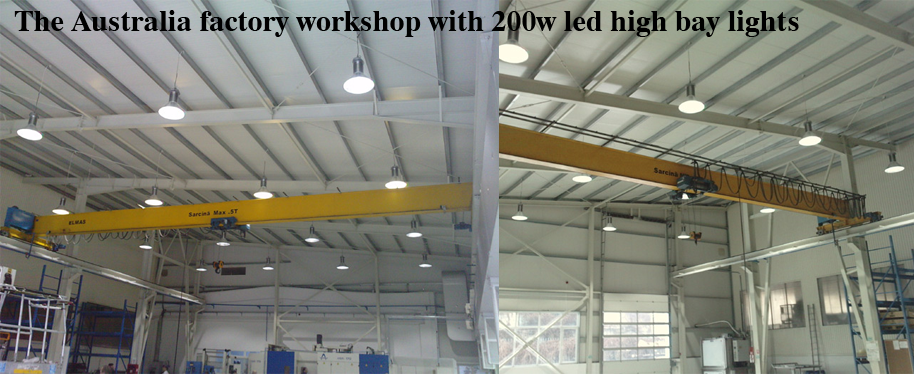 200w led workshop lights & Workshop with 200w led high bay light-Australia factory | Provide ...
